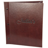 Bonded Leather Chicago Menu Boards