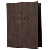 Wood Look Menu Covers