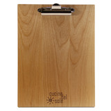 Alder Wood Menu Boards with Clip