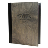 Baltic Birch Wood Menu Covers
