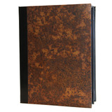 Aged Copper Menu Covers