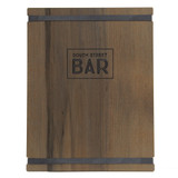 Barnwood Menu Boards with Bands