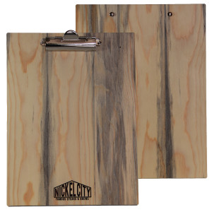 Blue Pine Wood Menu Boards with Clip