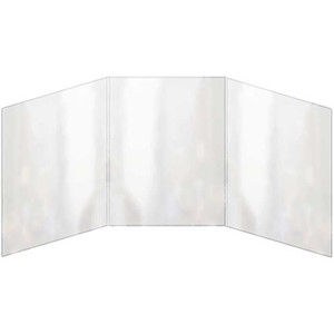 All Clear Three Panel Foldout Six View Menu Covers