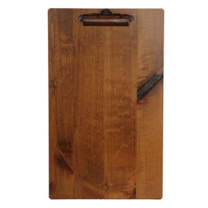 Stained Alder Wood Boards with Clip