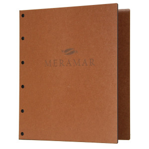 Riveted Premium Hardboard Three Ring Binders