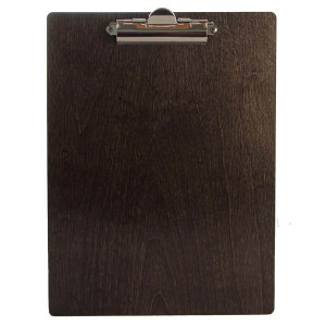 Baltic Birch Wood Menu Clipboards