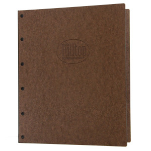 Riveted Hardboard Three Ring Binders