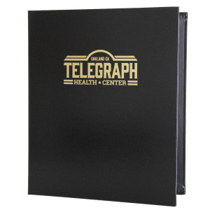 Bonded Leather Three Ring Binders