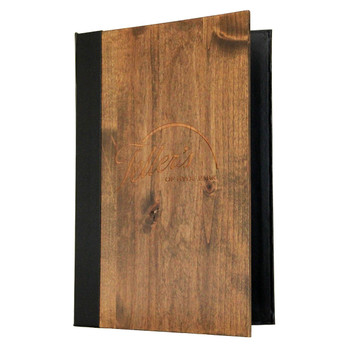 Wood Three Ring Binder