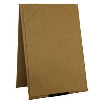 Linen Two View Table Tent