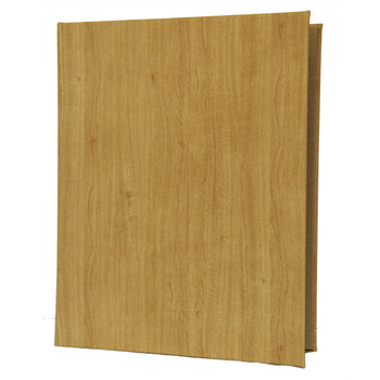 Wood Look Three Ring Binder