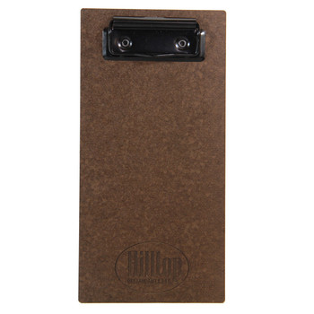 Hardboard Check Presenter with Flat Black Clip