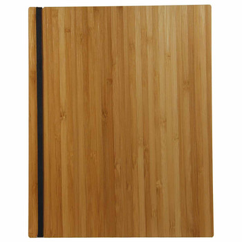 Bamboo Menu Board 8.5 x 11 with Vertical Band