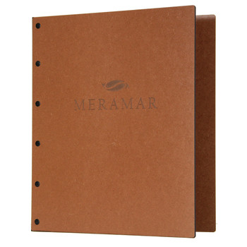 Riveted Premium Hardboard Three Ring Binder