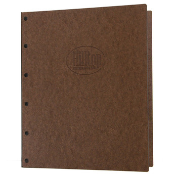 Riveted Hardboard Three Ring Binder