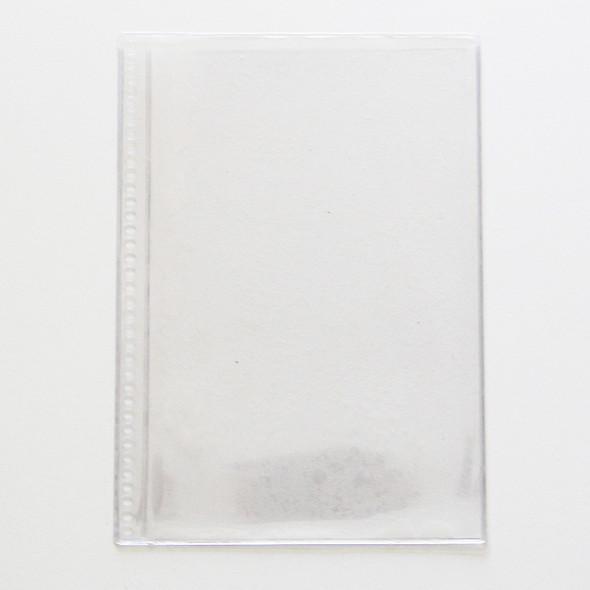 Clear spiral pocket 5.5 x 8.5