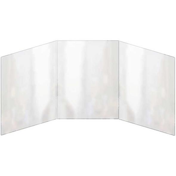 Triple foldout All Clear Menu Cover