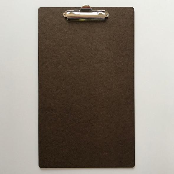 Hardboard Menu Board with Clip 8.5 x 14