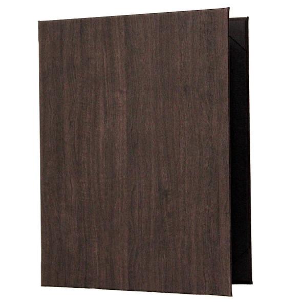 Wood Look Menu Cover