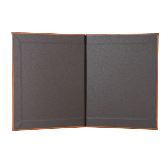 Interior of Bordeaux Chicago Menu Board in Linen French Roast