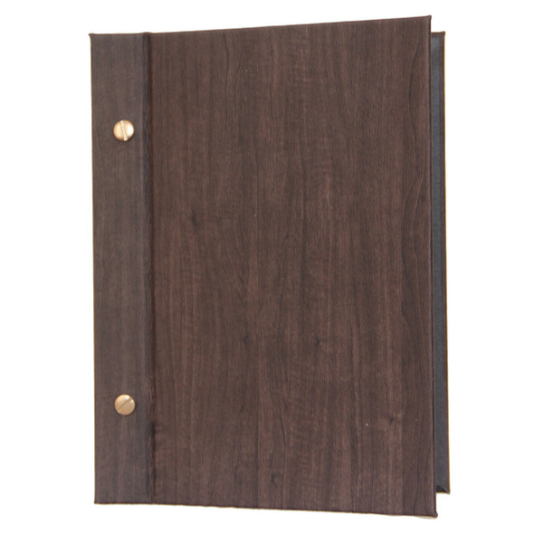 Wood Look Chicago Menu Board 5.5 x 8.5