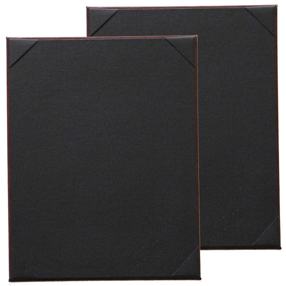Bonded Leather One Panel Two View (double sided) Menu Board