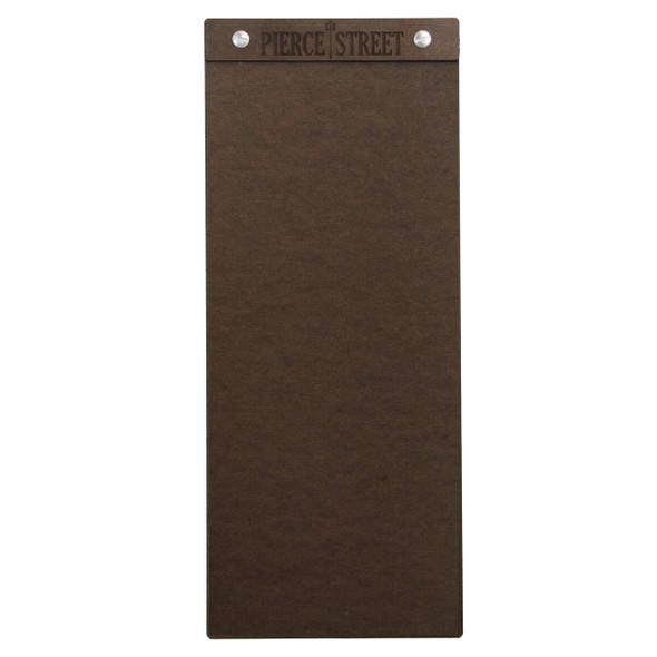 "Hardboard Menu Board with Screws 4.25"" x 11"""
