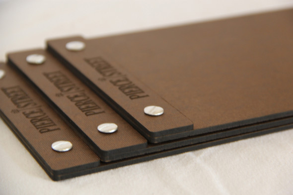 Hardboard with Screws
