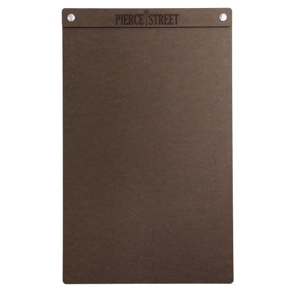 "Hardboard Menu Board with Screws 8.5"" x 14"""