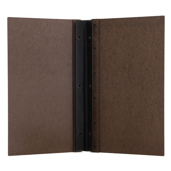 Interior of the Riveted Hardboard Screw Post Menu Cover 5.5 x 11