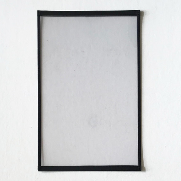 """Clearance Big Trim One Panel Two View Menu Cover 11"""" x 17"""" Black"""