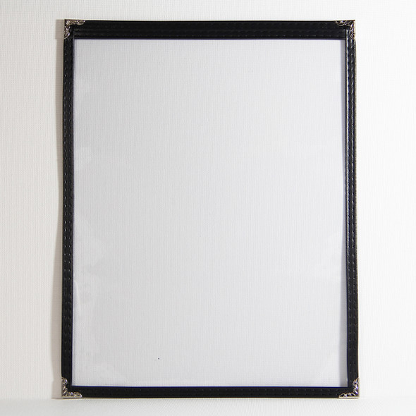 On Sale Sewn One Panel Two View Menu Cover 8.5x11