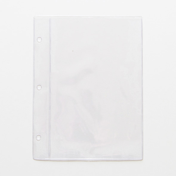 "Chicago Menu Board Page Protector Pocket 5.5"" x 8.5"""