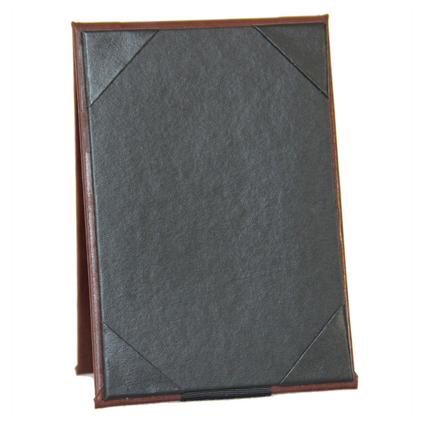 Bonded Leather Two View Table Tent 4 x 7