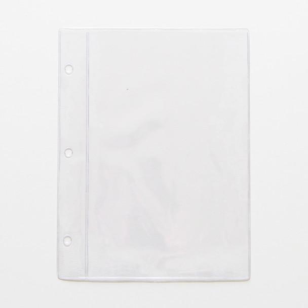 """Chicago Menu Board Page Protector Pocket 5.5"""" x 8.5"""""""