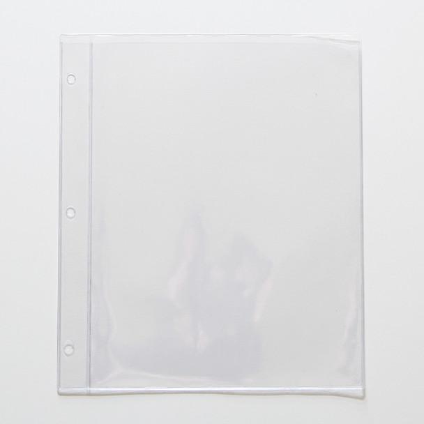 """Chicago Menu Board Page Protector Pocket 8.5"""" x 11"""""""