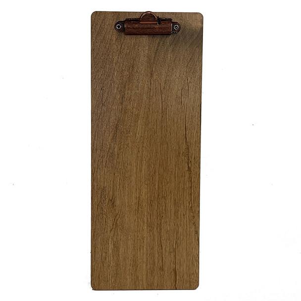 Stained Alder Dark Oak Rust Clip 425x11 with rust  clip