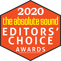2020 The Absolute Sound Editor's Choice Award