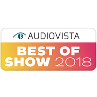 AudioVista 2018 Best of Show Award