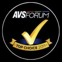 AVS Forum 2019 Top Choice Award