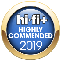 HiFi Plus Highly Recommended Award 2019