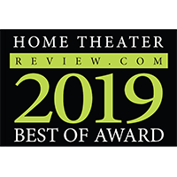2019 Home Theater Review Best of Award
