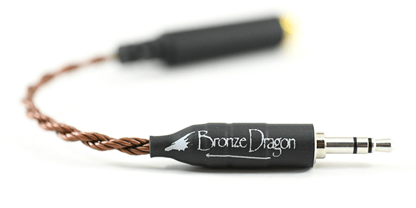 Bronze Dragon IEM Adapter Cable