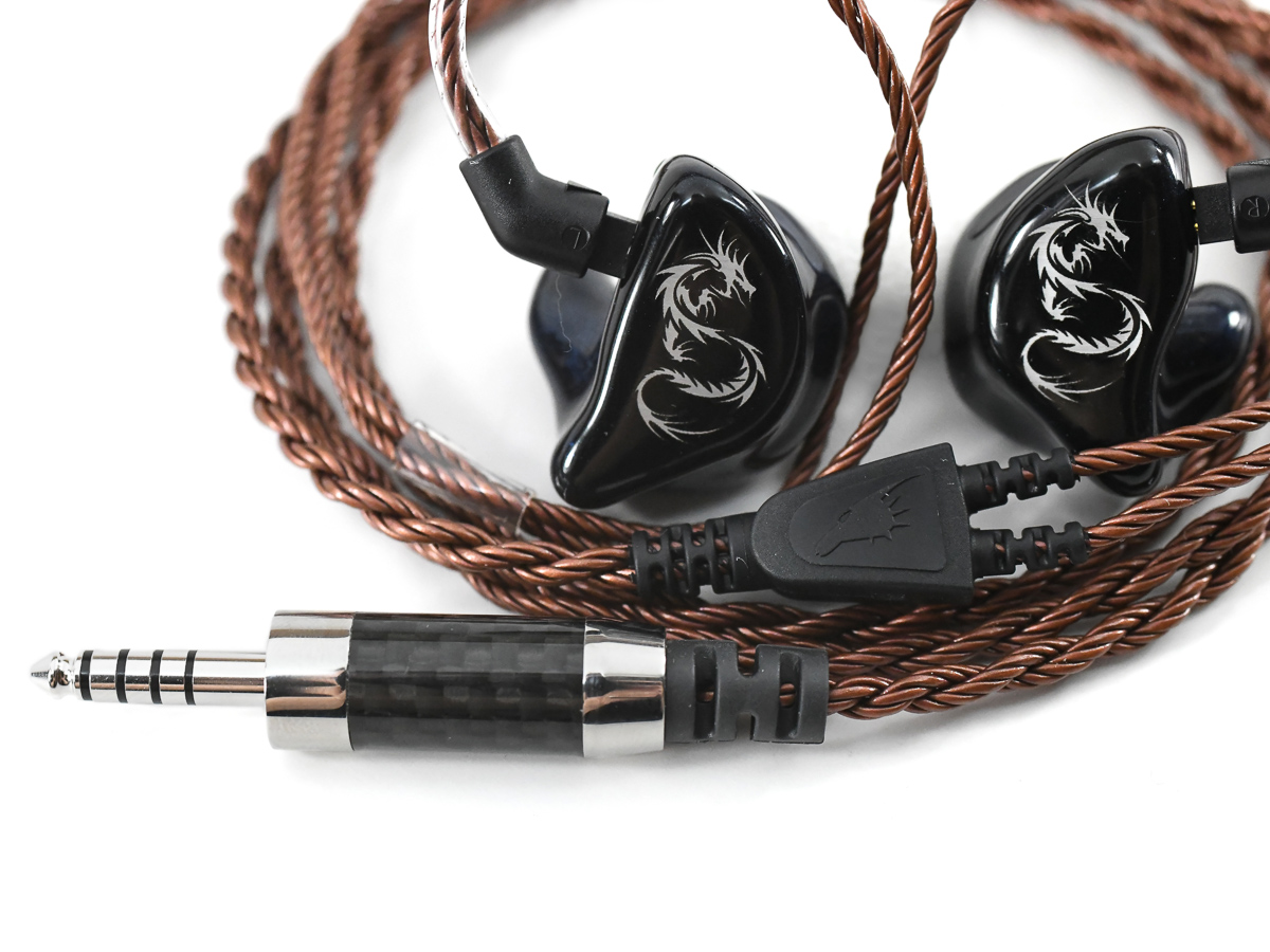Bronze Dragon IEM Cable