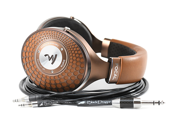 Focal Stellia headphones with Black Dragon premium cable