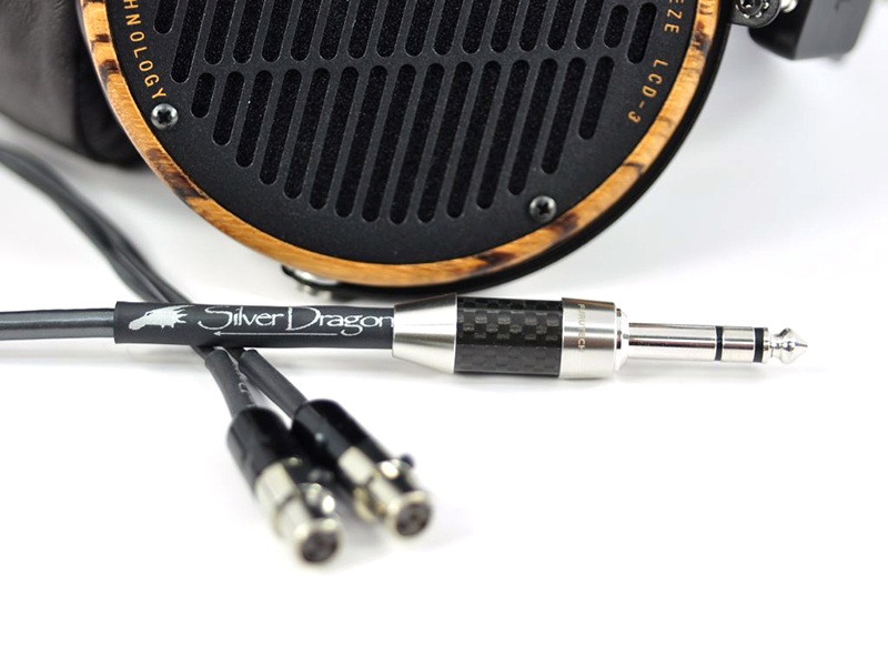 Silver Dragon Premium Cable and Audeze LCD-3 Headphones