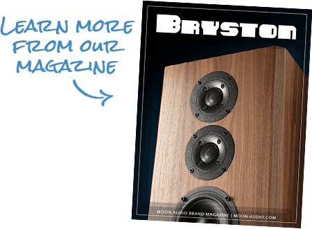 Learn more from our Bryston Magazine guide