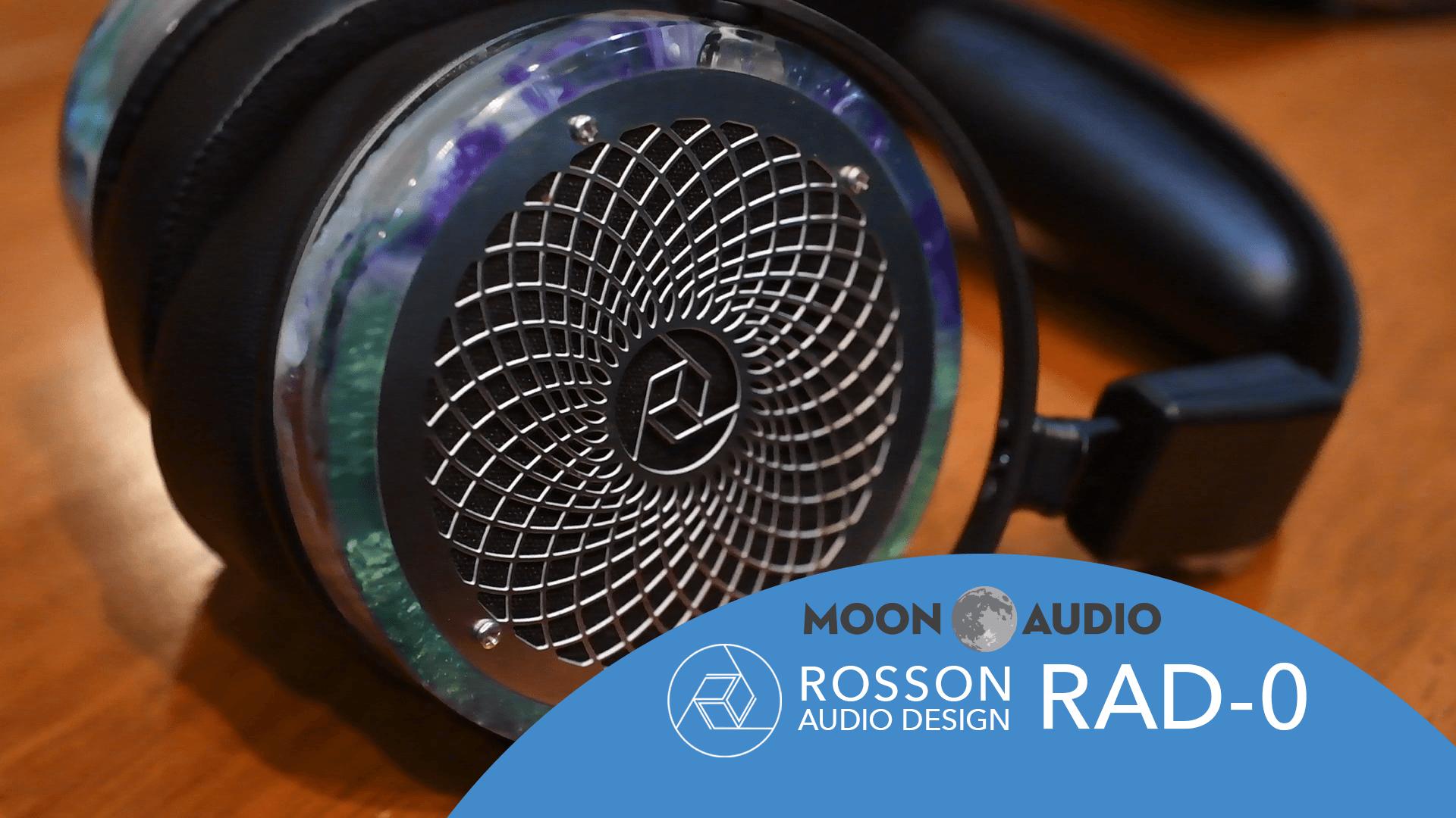 Rosson Audio Design RAD-0 Headphone Review Video