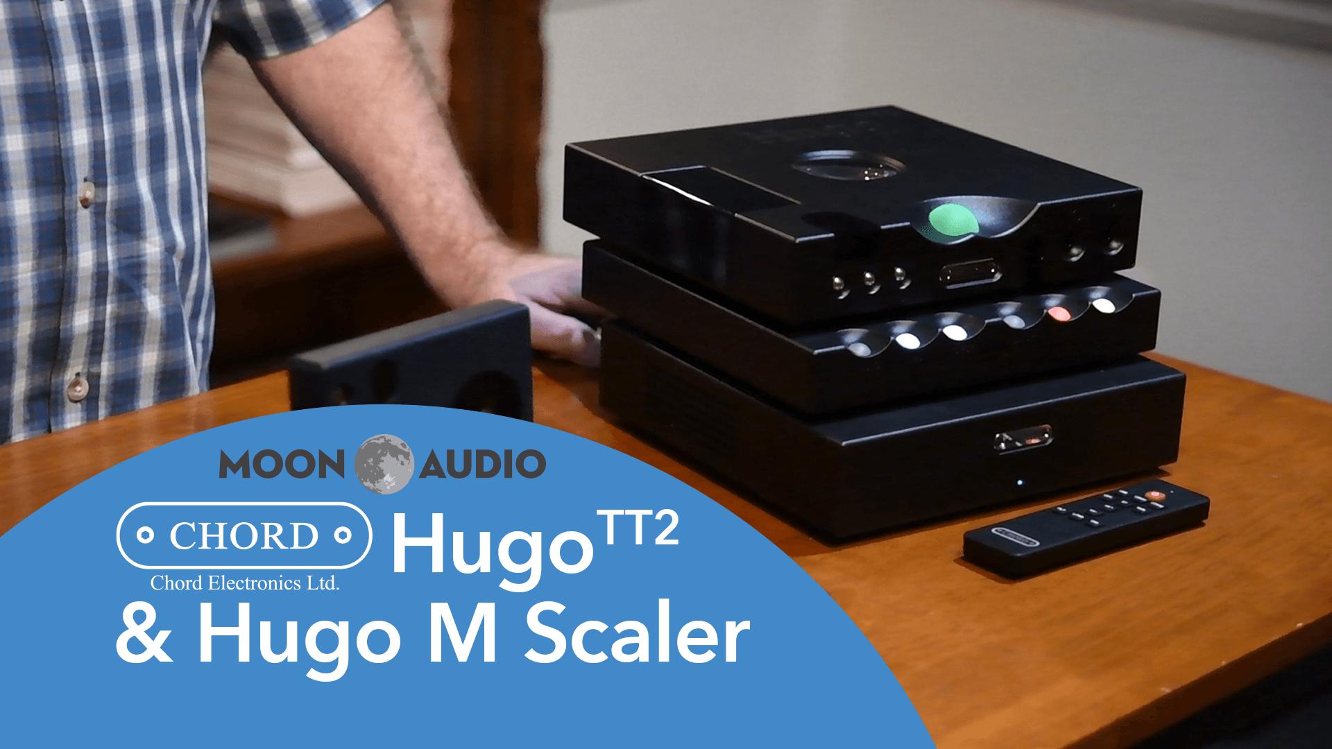 Chord Hugo TT2 and Hugo M Scaler Video